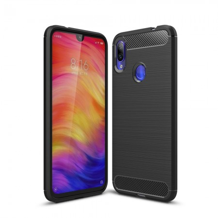 ETUI TPU CARBON DO XIAOMI REDMI NOTE 7