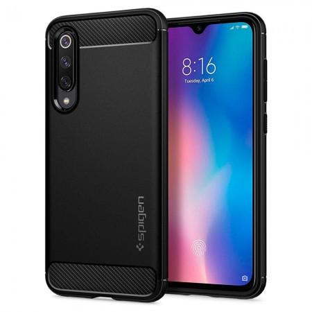 SPIGEN RUGGED ARMOR XIAOMI MI9 SE BLACK