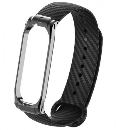 OPASKA ZAMIENNA DO XIAOMI MI BAND 3/4 CARBON