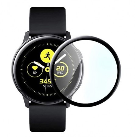 FOLIA OCHRONNA Z RAMKĄ 3D DO SAMSUNG GALAXY WATCH ACTIVE